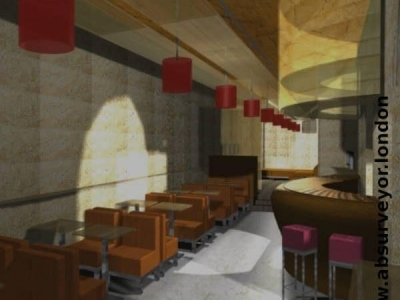 AB Surveyor London: bar internal refurbishment