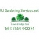 RJ Gardening Services (Lawn & Hedge Care)